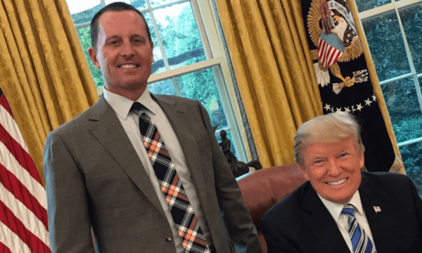 Richard Grenell And Donald Trump 600x360 1